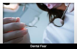 Корреляция может существовать между завязыванием рта, зубным страхом